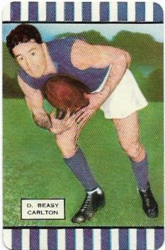 1954 Coles Series 1 Carlton – Doug Beasy