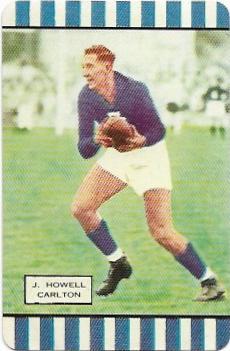 1954 Coles Series 1 Carlton – Jack Howell