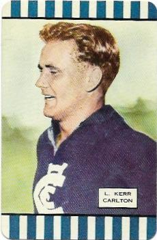1954 Coles Series 1 Carlton – Laurie Kerr