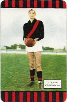 1954 Coles Series 1 Essendon – Geoff Leek