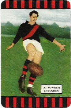 1954 Coles Series 1 Essendon – John Towner