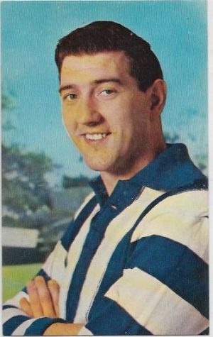1964 Mobil Football Photo (2) Barry Cheatley North Melbourne