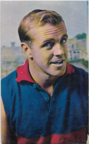 1964 Mobil Football Photo (12) Ted Whitten Footscray
