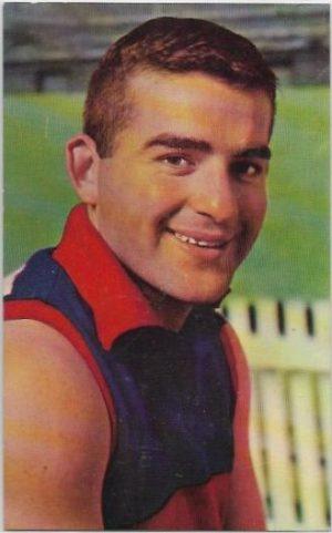 1964 Mobil Football Photo (17) Ray Walker Footscray