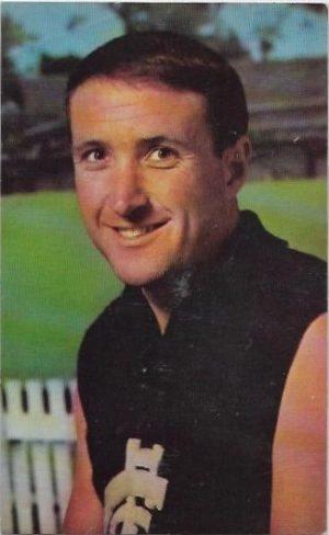 1964 Mobil Football Photo (21) John Nicholls Carlton