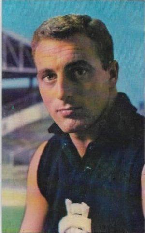 1964 Mobil Football Photo (26) Wesley Lofts Carlton