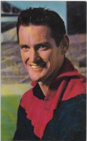 1964 Mobil Football Photo (27) Tassie Johnson Melbourne