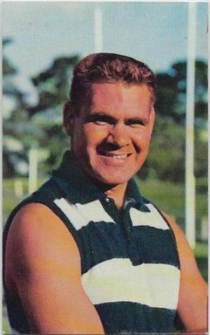 1964 Mobil Football Photo (31) Graham Farmer Geelong