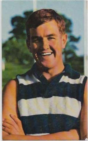 1964 Mobil Football Photo (32) Doug Wade Geelong