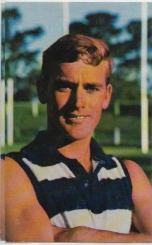 1964 Mobil Football Photo (33) Alistair Lord Geelong