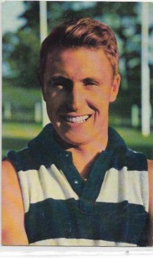 1964 Mobil Football Photo (36) Bill Goggin Geelong