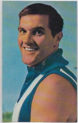 1964 Mobil Football Photo (37) Noel Teasdale North Melbourne