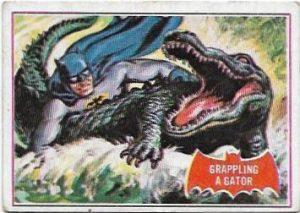 1966 Batman Red (2A) Grappling A Gator