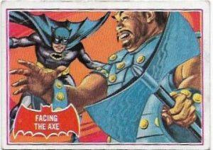 1966 Batman Red (6A) Facing The Axe