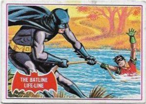 1966 Batman Red (7A) The Batline Life-Line