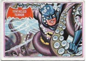1966 Batman Red (8A) Tentacled Terror