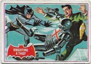 1966 Batman Red (9A) Knighting A Thief