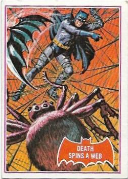 1966 Batman Red (18A) Death Spins A Web