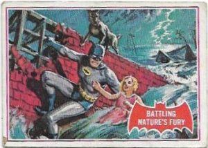 1966 Batman Red (23A) Battling Nature's Fury
