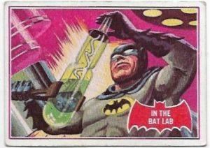 1966 Batman Red (25A) In The Bat Lab