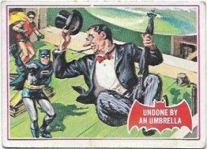 1966 Batman Red (30A) Undone By An Umbrella