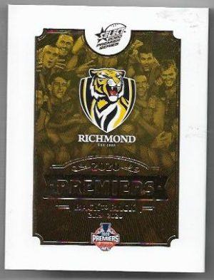 2020 Select Richmond Premiership Set