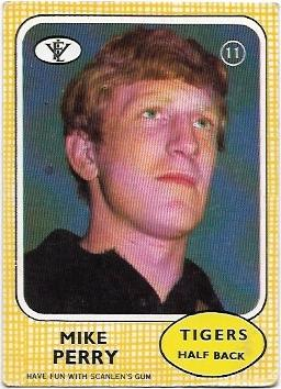 1972 VFL Scanlens (11) Mike Perry Richmond