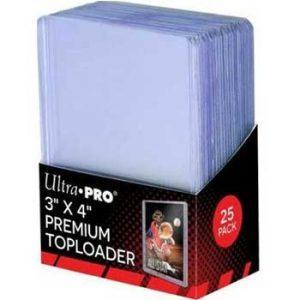 Ultra Pro Regular Top Loaders 35 Pt – Pack Of 25