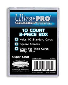 Ultra Pro Regular 10 Count Box