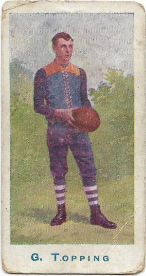 1904 Sniders & Abrahams Series A – Carlton – George Topping