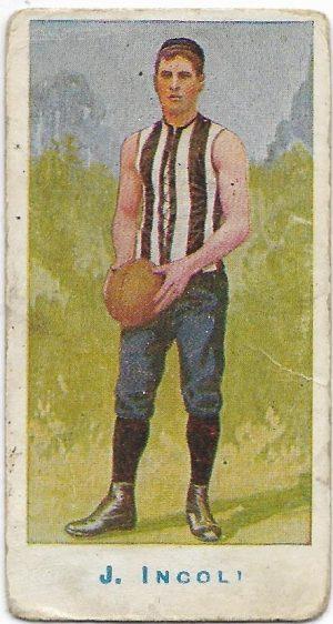 1904 Sniders & Abrahams Series A – Collingwood – John Incoll