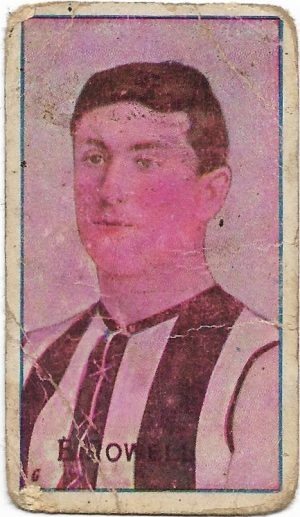 1909 Series D Sniders & Abrahams – Collingwood – Edward Rowell