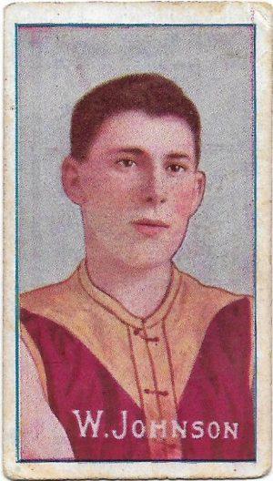 1909 Series D Sniders & Abrahams – Fitzroy – Wally Johnson