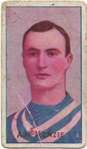 1909 Series D Sniders & Abrahams – Geelong – Alec McKenzie