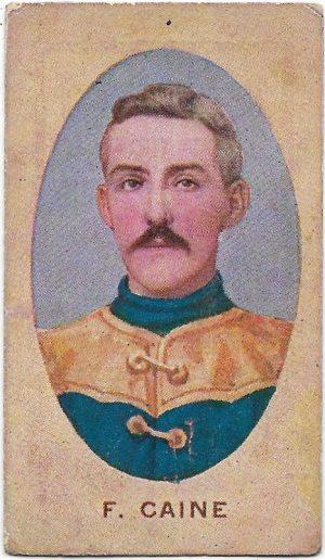 1910 Series E Sniders & Abrahams – Carlton – Frank Caine