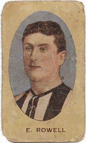 1910 Series E Sniders & Abrahams – Collingwood – Edward Rowell
