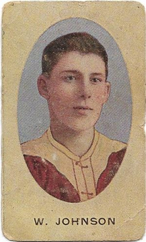 1910 Series E Sniders & Abrahams – Fitzroy – Wally Johnson
