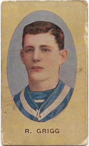 1910 Series E Sniders & Abrahams – Geelong – Dick Grigg