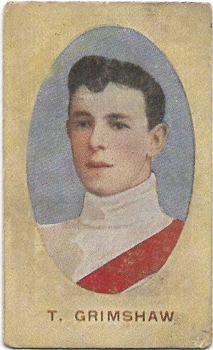 1910 Series E Sniders & Abrahams – South Melbourne – Tom Grimshaw