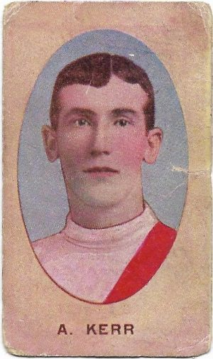 1910 Series E Sniders & Abrahams – South Melbourne – Alex Kerr