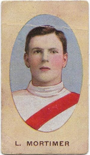 1910 Series E Sniders & Abrahams – South Melbourne – Len Mortimer