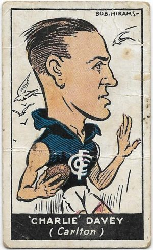 1933 Carreras (13) Charlie Davey Carlton