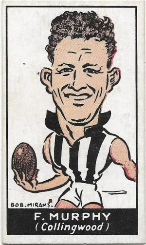 1933 Carreras (19) Frank Murphy Collingwood
