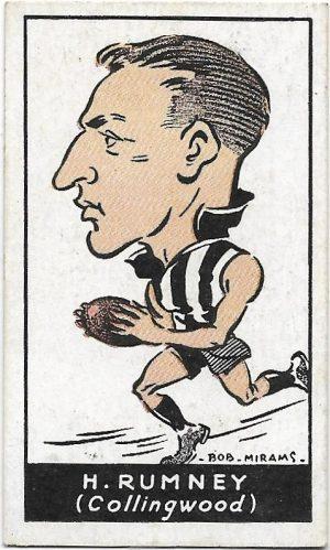 1933 Carreras (20) Harold Rumney Collingwood