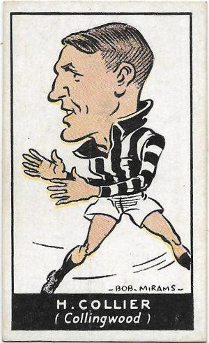 1933 Carreras (24) Harry Collier Collingwood