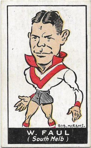 1933 Carreras (30) William Faull South Melbourhne