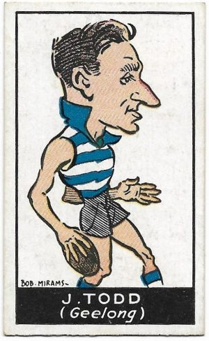 1933 Carreras (32) George Todd Geelong