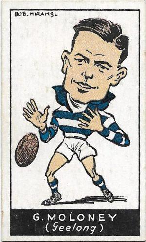 1933 Carreras (33) George Moloney Geelong