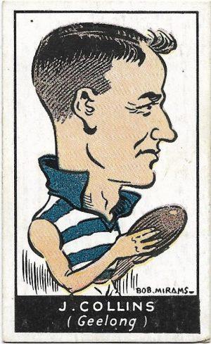 1933 Carreras (34) Jack Collins Geelong
