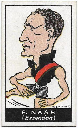 1933 Carreras (37) Frank Nash Essendon